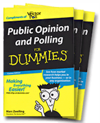 Book Cover of Public Opinion and Polling for Dummies